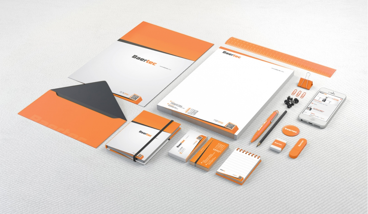 Baertec Makine Corporate Identity - Graphic Design