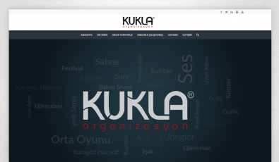 Kukla Organizasyon Website with Control Panel - Web Tasarımı