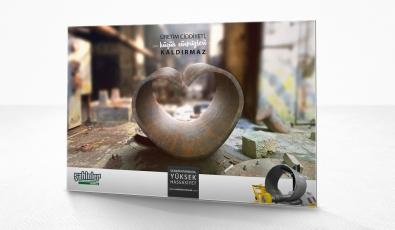 Şahinler Metal advertisement campaign - Precision - Grafik Tasarım