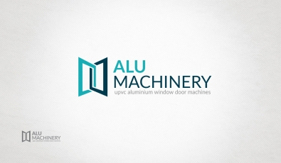 Alu Machinery Logotype Design - Grafik Tasarım