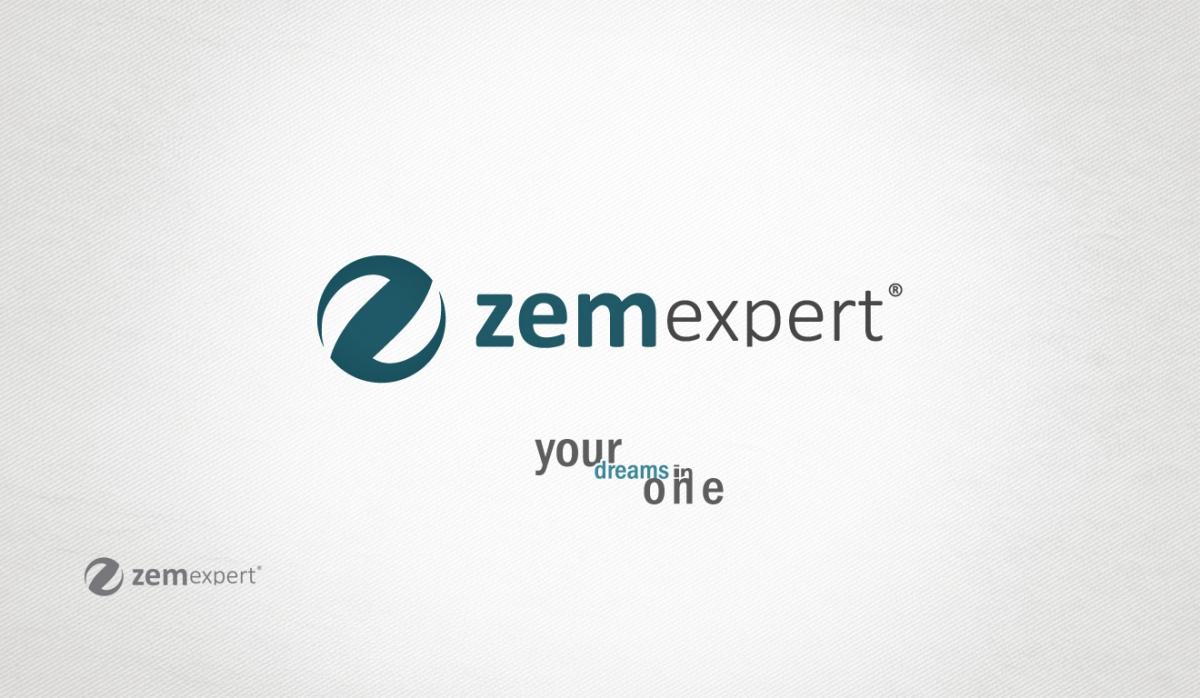 Zem Expert Logotype Design - Graphic Design
