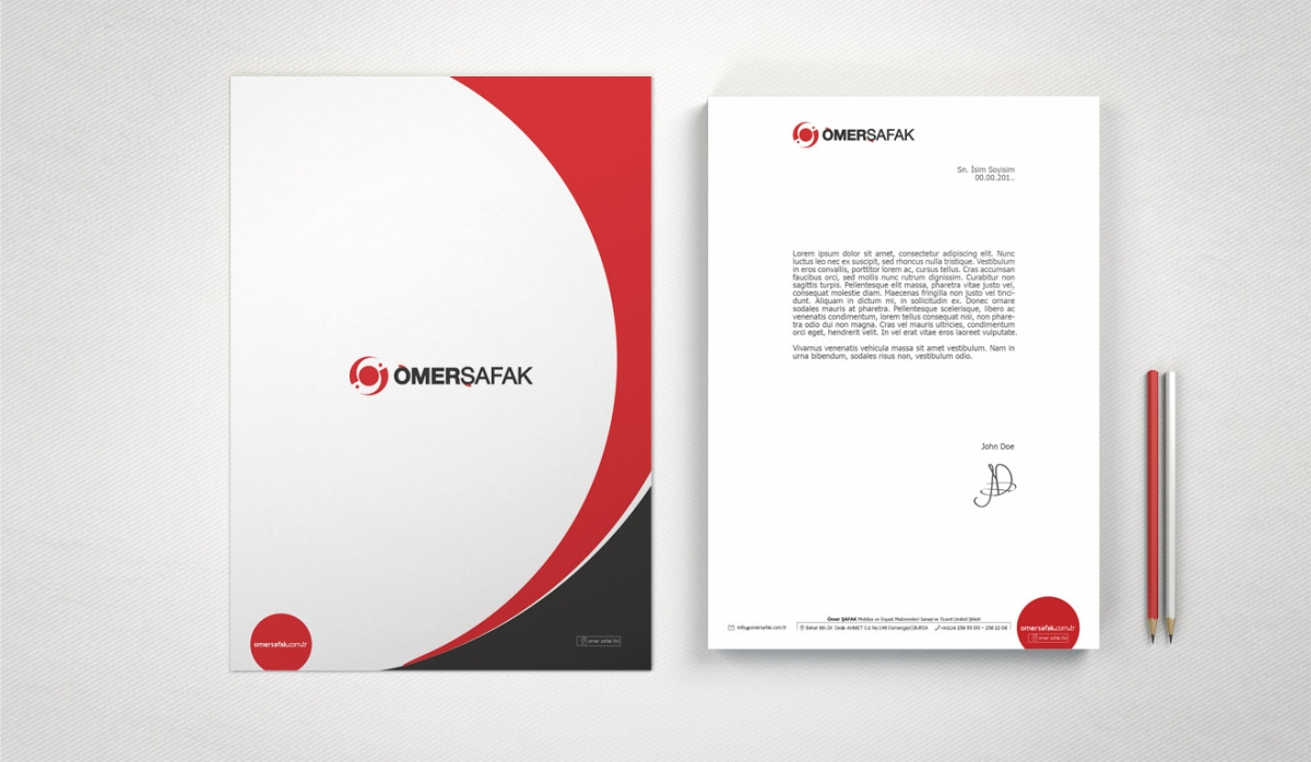 Ömer Şafak Yapı Market Corporate Identity - Graphic Design