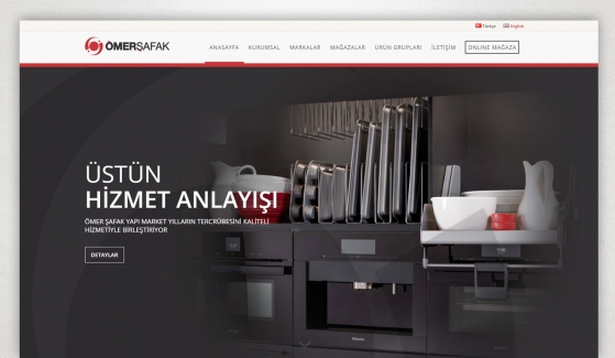 Ömer Şafak Yapı Market Corporate Web Site Design - Web Design