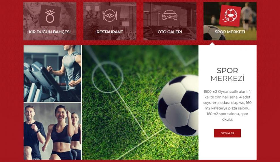 Dr. Tanhan Tesisleri Kurumsal Web Sitesi - Web Tasarımı
