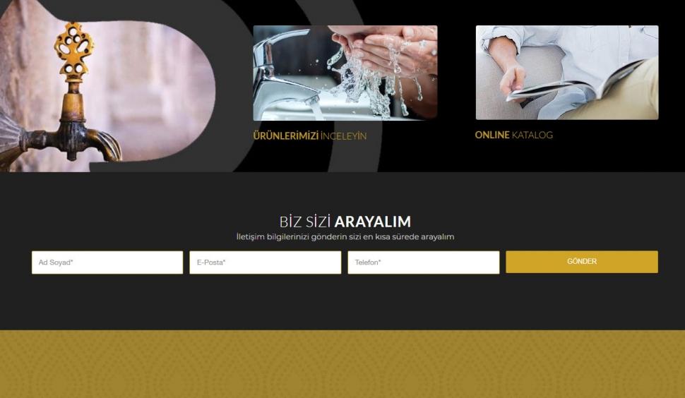 Rivana Armatür Kurumsal Web Sitesi - Web Tasarımı