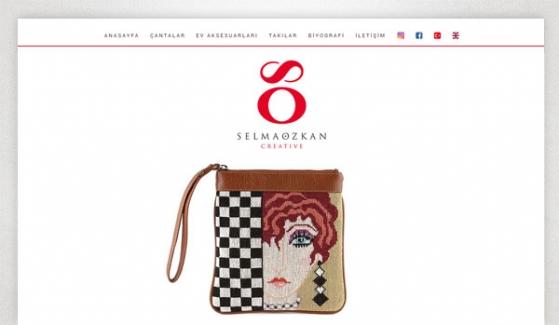Selma Özkan Creative Web Sitesi Tasarımı - Web Tasarımı