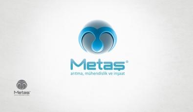 Metaş Arıtma Logotype Design - Grafik Tasarım