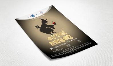 Ankara Büyükşehir Belediyesi Evvel Zaman Tiyatro Afişi - Grafik Tasarım