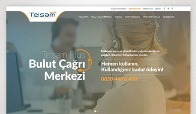 Telsam Plus Corporate Website - Web Tasarımı