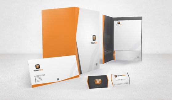 Temataş İnşaat Endüstri Corporate Identity - Graphic Design