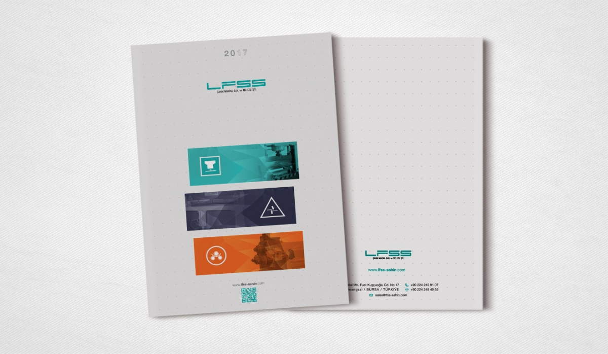 LFSS Şahin Makina Catalog Design - Graphic Design