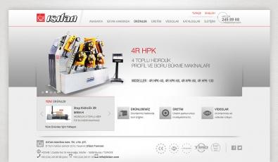 Isıtan Makina Website With Admin Panel - Web Tasarımı