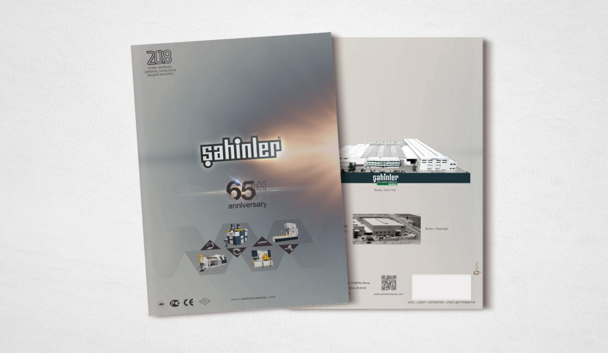Şahinler Metal Catalog Design - Graphic Design