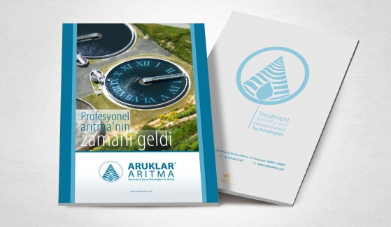 Aruklar Arıtma Catalog Design - Graphic Design