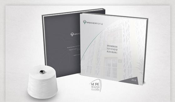 Mingachevir Textile Kurumsal Kimlik Kitabı - Grafik Tasarım