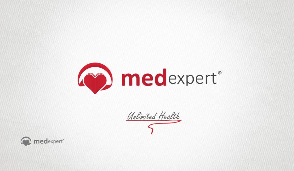 Med Expert Logo Tasarımı - Grafik Tasarım