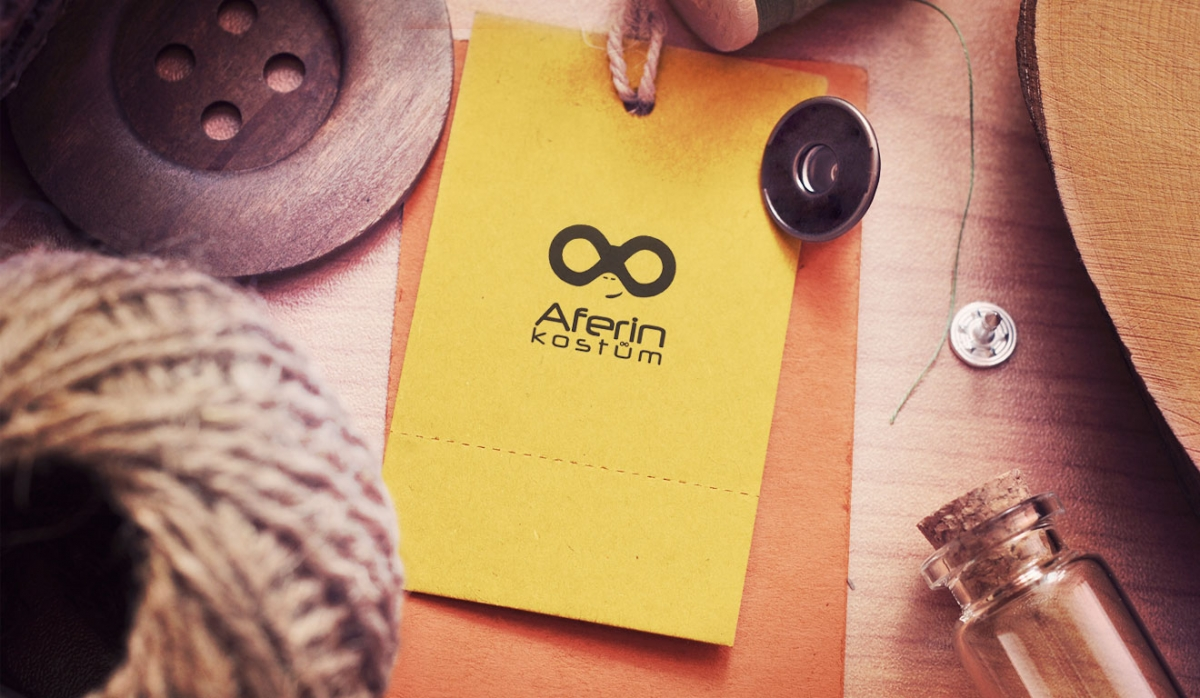 Aferin Kostüm Business Card Design - Graphic Design