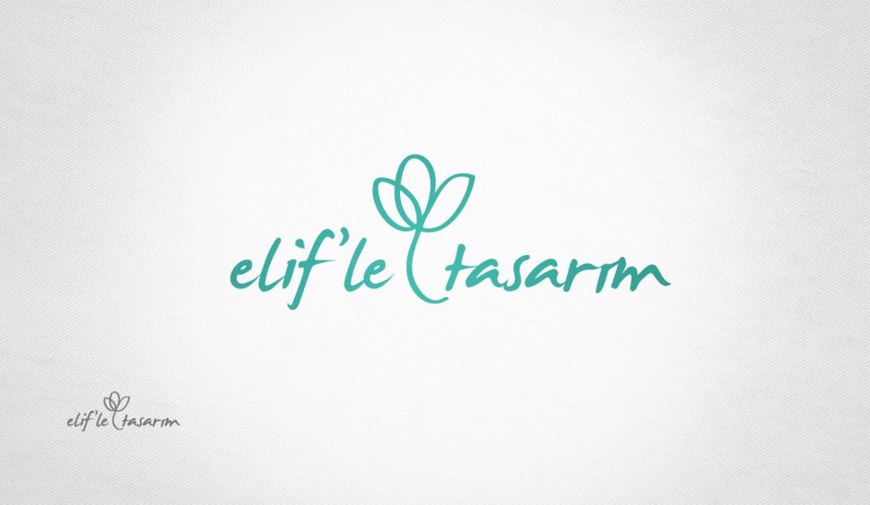 Elifle Tasarım Logo Tasarımı - Grafik Tasarım