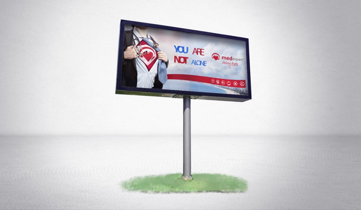 Med Expert Billboard Design - Graphic Design