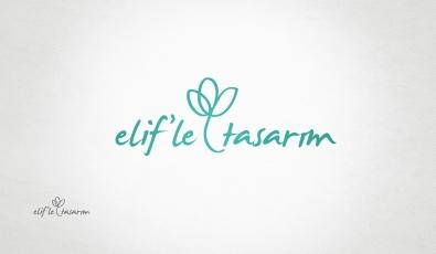 Elifle Tasarım Logotype Design - Grafik Tasarım