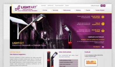 Lightart Aydınlatma Static Website - Web Tasarımı