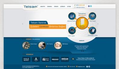 Telsam Telekomunikasyon Website With Admin Panel - Web Tasarımı