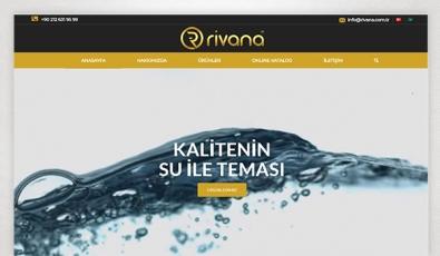 Rivana Armatür Corporate Website - Web Tasarımı