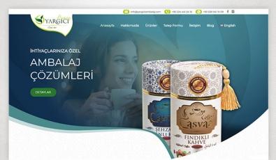 Yargıcı Ambalaj Corporate Website - Web Tasarımı