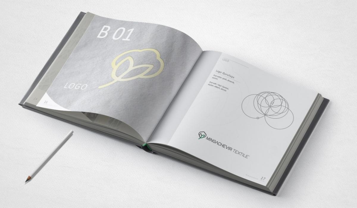 Mingachevir Textile Brandbook - Graphic Design
