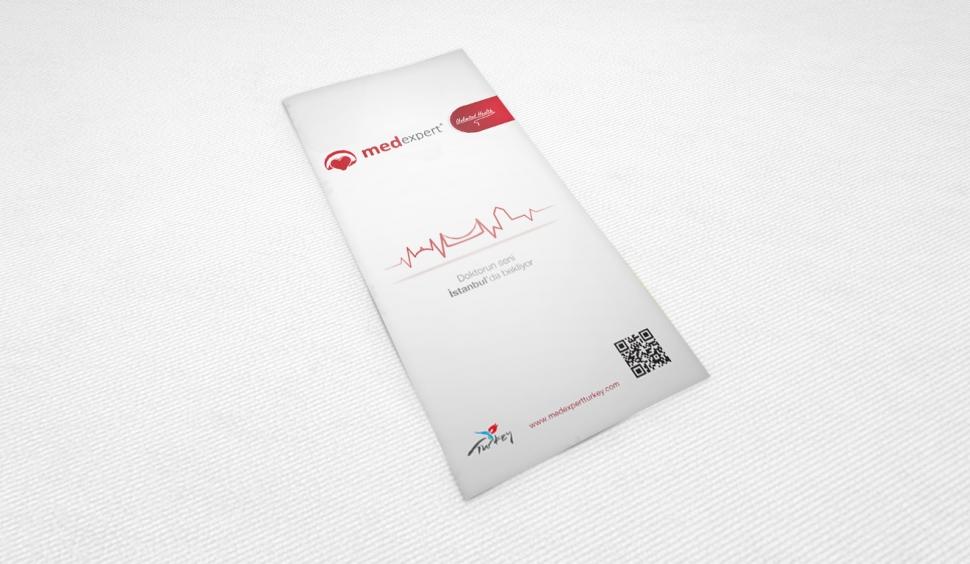 Med Expert Broşür Tasarımı - Grafik Tasarım