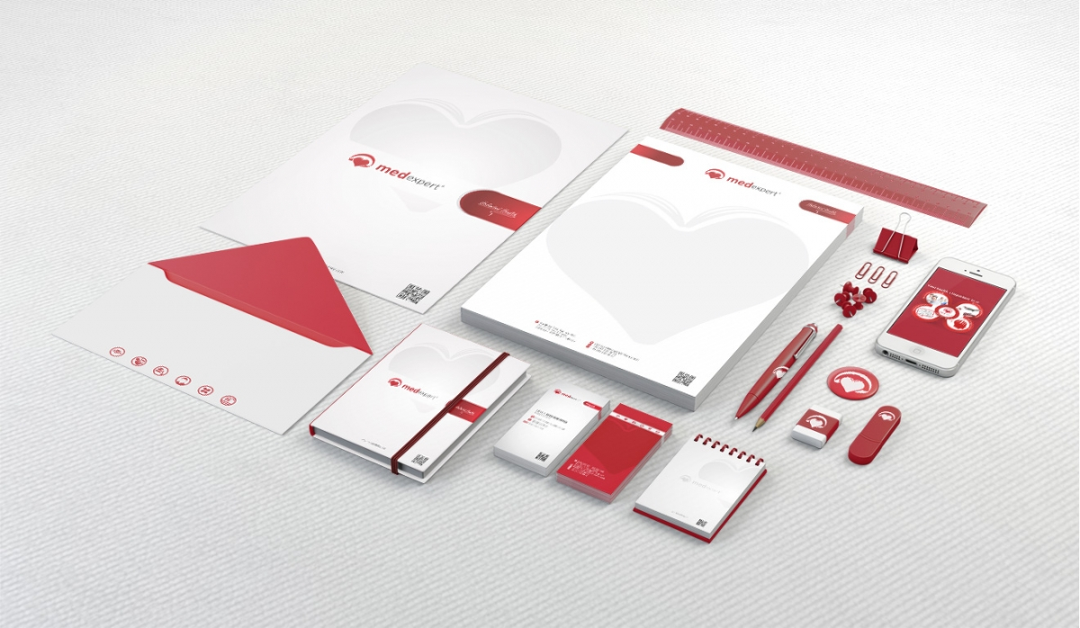 Med Expert Corporate Identity - Graphic Design