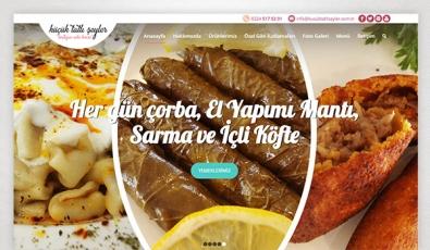 Küçük Tatlı Şeyler Corporate Website - Web Tasarımı