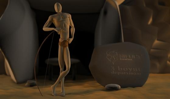 Silüet Tanıtım Ajansı 3D Mascot Design -