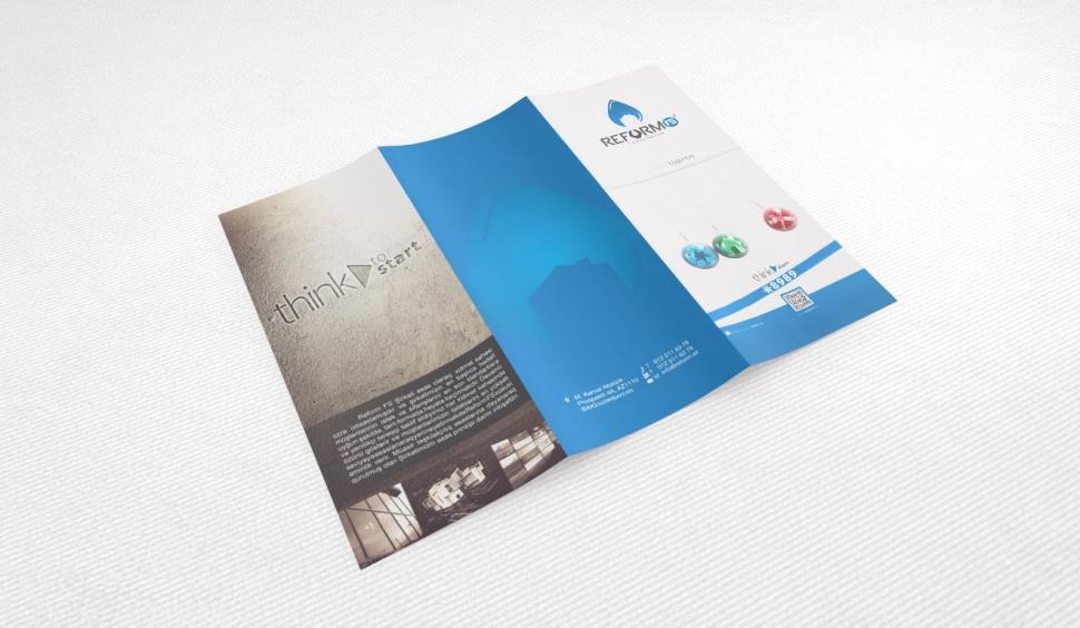 Reform Facility Broşür Tasarımı - Grafik Tasarım