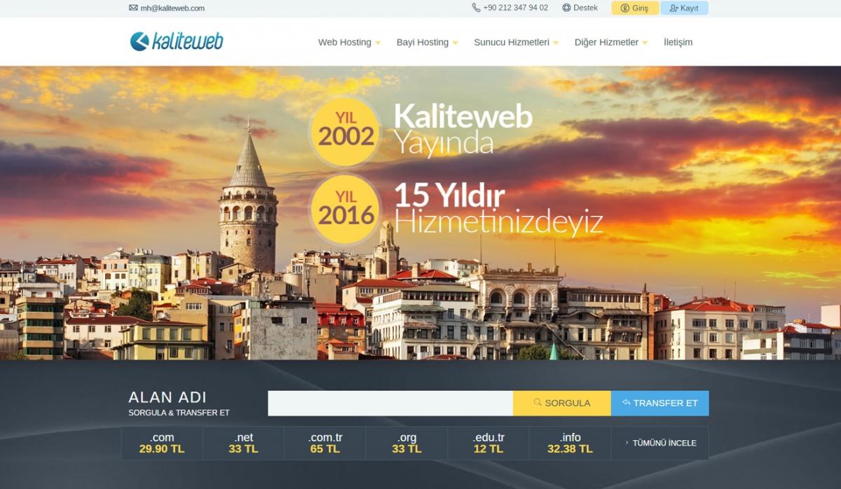 KaliteWeb KaliteWeb Hosting Site - Web Design