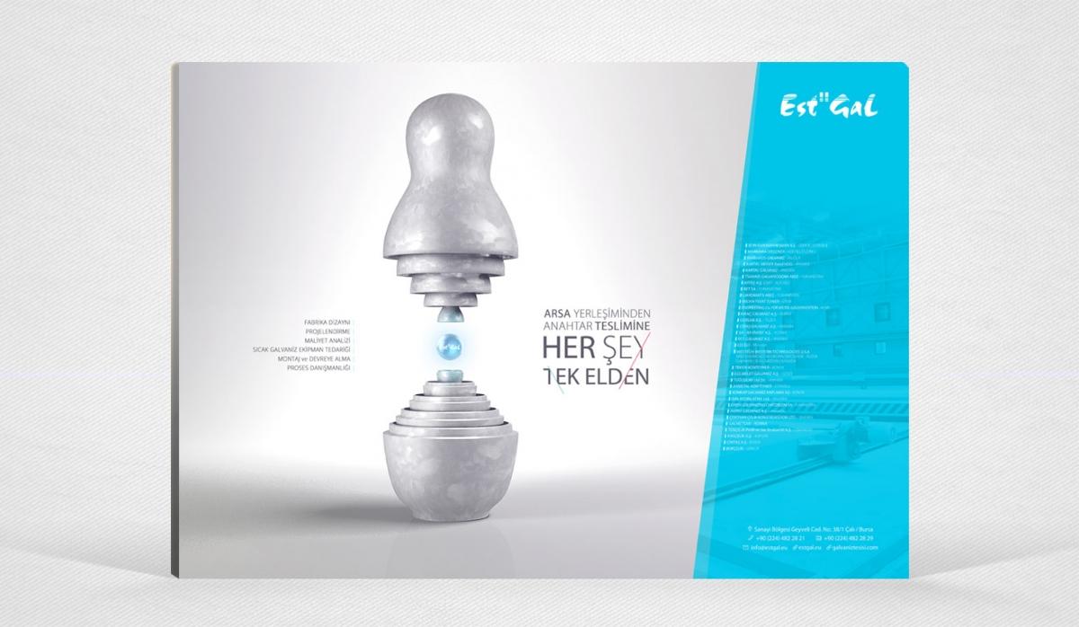 Est-Gal Advertisement Design - Graphic Design