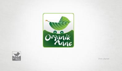 Organik Anne Logo Tasarımı - Grafik Tasarım