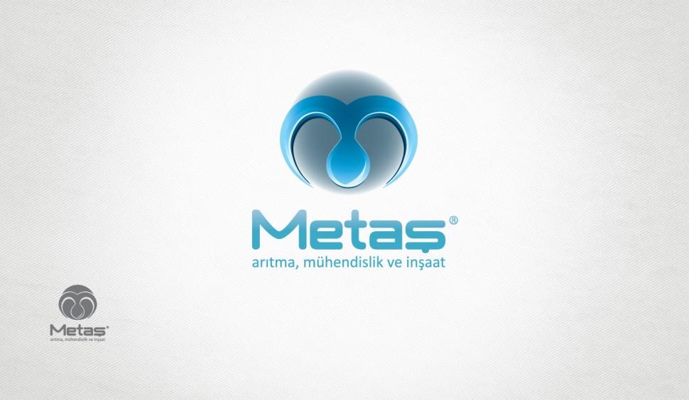Metaş Arıtma Logo Tasarımı - Grafik Tasarım