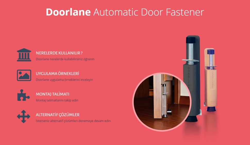 Doorlane Kontrol Panelli Web Sitesi - Web Tasarımı
