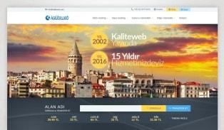 KaliteWeb Hosting Sitesi
