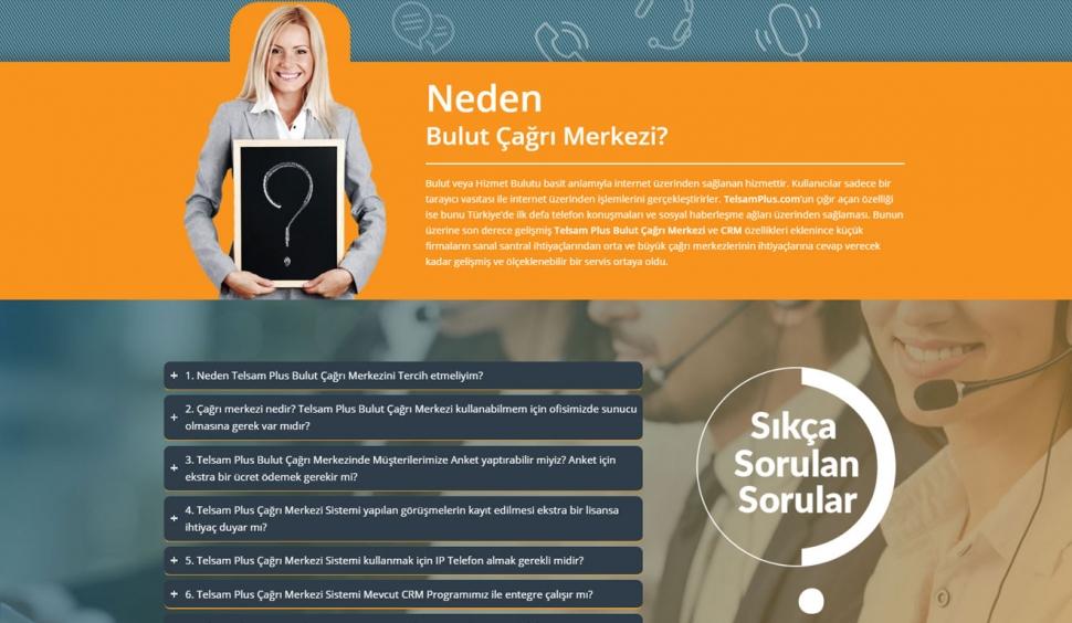 Telsam Plus Kurumsal Web Sitesi - Web Tasarımı