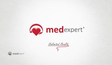Med Expert Logotype Design - Grafik Tasarım