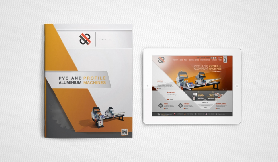 Baertec Makine Katalog Tasarımı - Grafik Tasarım