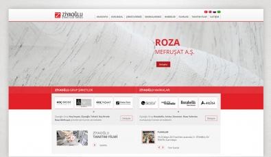 Ziyaoğlu Tekstil Website With Admin Panel - Web Tasarımı