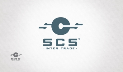SCS Intertrade Logo Design - Grafik Tasarım