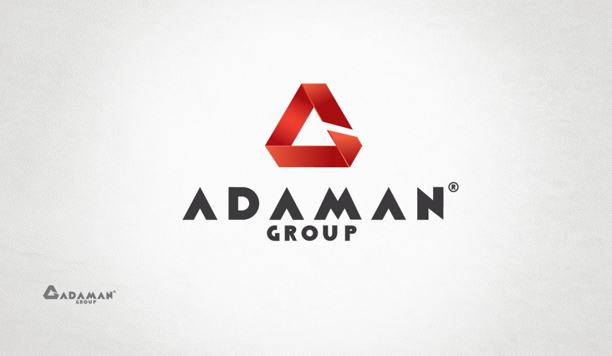 Adaman Group Logotype Design - Graphic Design