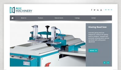Alu Machinery Website With Admin Panel - Web Tasarımı