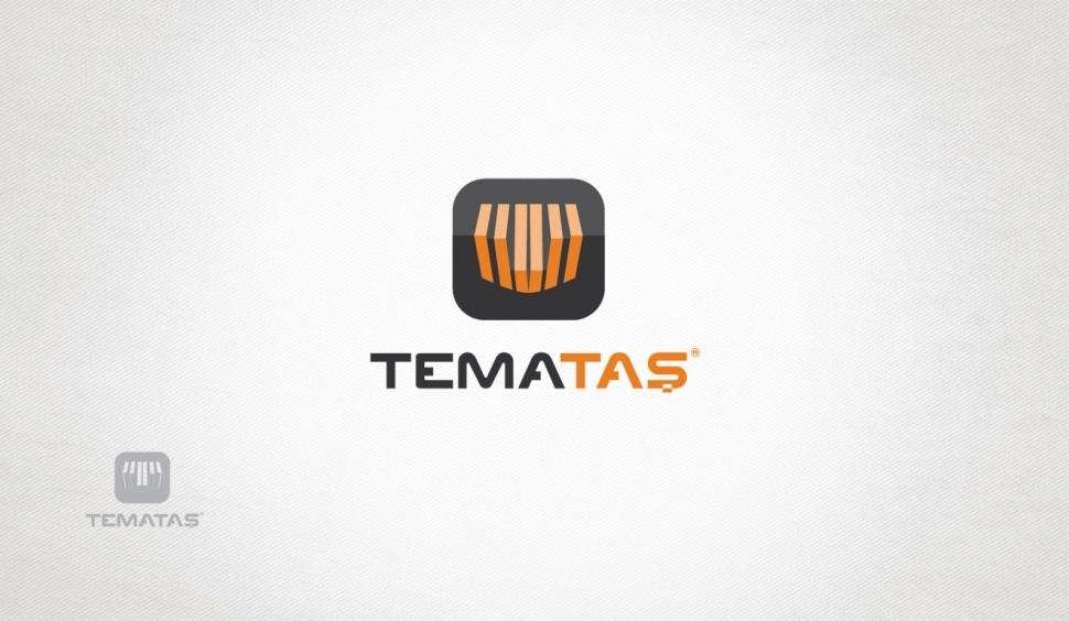Temataş İnşaat Endüstri Logo Tasarımı - Grafik Tasarım