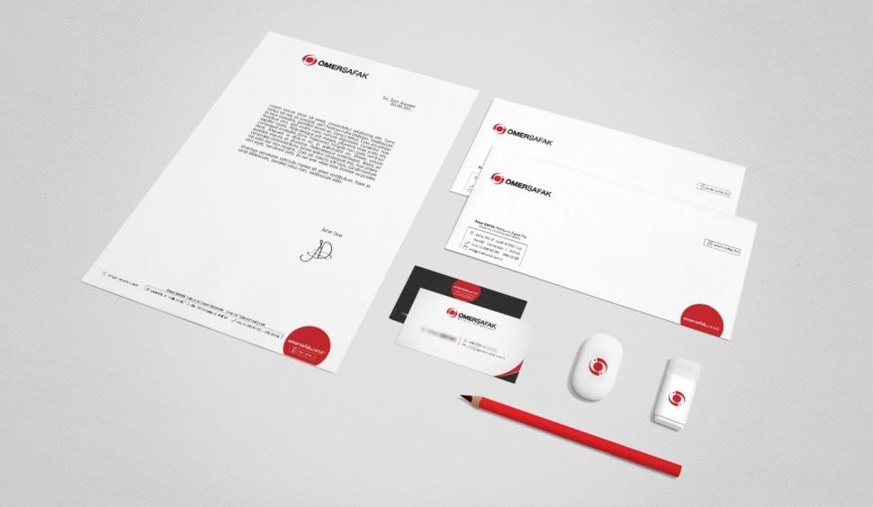 Ömer Şafak Yapı Market Kurumsal Kimlik Tasarımları - Grafik Tasarım