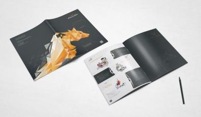 Wolftech Machine Katalog Tasarımı - Grafik Tasarım